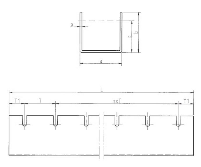 TRAPOROL Allseitenrollen-Profil Serie ARP Ansicht 1
